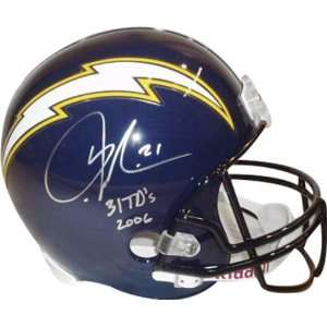 LaDainian Tomlinson San Diego Chargers Autographed Navy