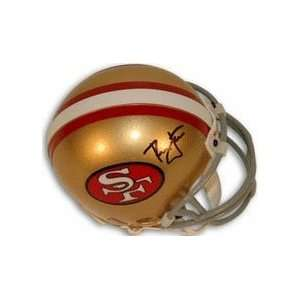 Ronnie Lott Autographed San Francisco 49ers Replica Mini