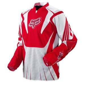 2010 Fox Racing Airline Jersey   Red   Small Automotive