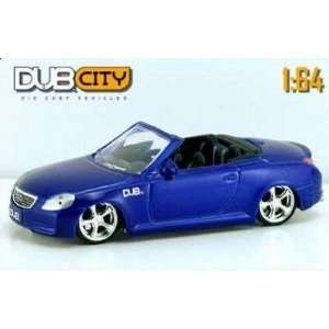 Jada Dub City Royal Blue 2002 Lexus SC430 Convertible 164