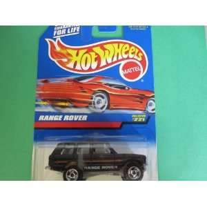Range Rover Hot Wheels Collector #221 on Red Card with Construction