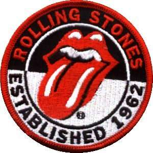 Rolling Stones Established 1962 Patch #19293   Embroidered