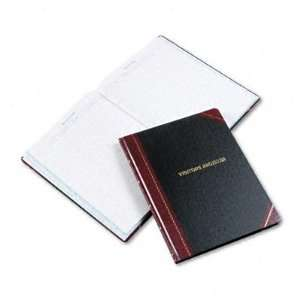 New Visitor Register Book Black/Red Hardcover 150 Case