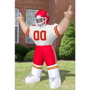 Kansas City Chiefs NFL Inflatable Tiny Player Lawn Figure (96 Tall