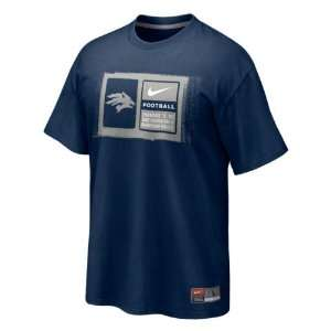 Nevada Wolf Pack Navy Nike 2011 Football Sideline Team