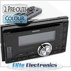 KENWOOD DPX U6120 DOUBLE DIN CD CAR STEREO IPOD PLAYER