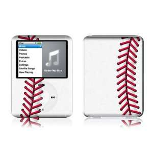 Baseball Design Protective Decal Skin Sticker for Apple