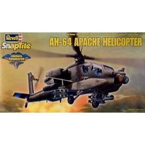 Apache Helicopter Snap Tite 1 72 Model Kit by Revell Toys