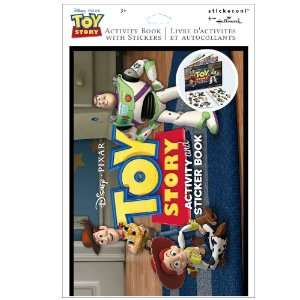 Lets Party By Hallmark Disney Toy Story Activity Book with