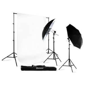 Lumenex Studio 280W Photography Lighting Light Kit + 10 x