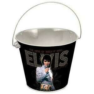 Elvis Presley The King Tin Bucket Toys & Games