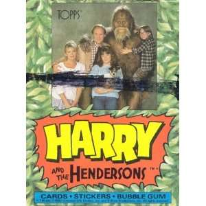 Harry and the Hendersons   Topps Trading Cards Toys