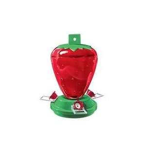 Strawberry Feeder / Red/Green Size By Heritage Farms
