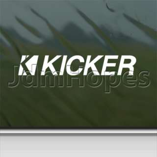 Kicker Decal Kicker Amp Car Truck Window Sticker