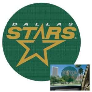 STARS OFFICIAL LOGO 8 PERFORATED WINDOW DECAL