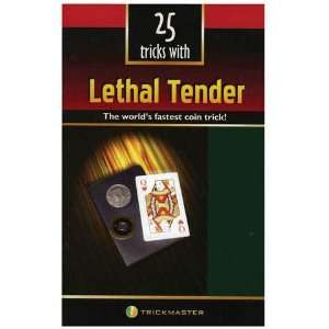 LETHAL TENDER MAGIC TRICK BOOK Toys & Games