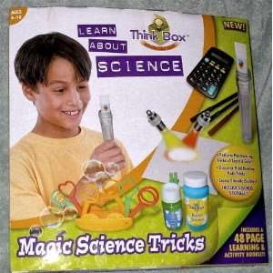 Think Box Learn About Science Magic Science Tricks Toys & Games