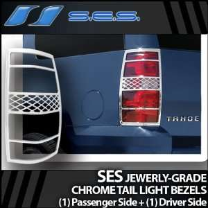 2007 2012 Chevy Tahoe/Suburban SES Chrome Tail Light