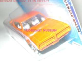1969 69 PONTIAC GTO JUDGE HOT WHEELS DIECAST 2010