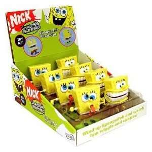 SPONGEBOB SQUAREPANTS 8pc CASE WIND UPS WIND UP SPONGEBOB