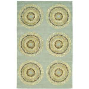 Soh719C 26 x 80 Light Blue / Multi Runner Area Rug