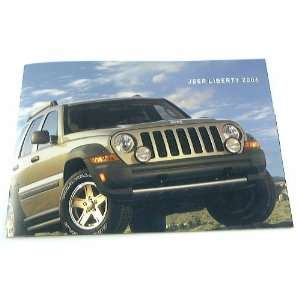 06 Jeep LIBERTY Truck Suv BROCHURE Sport Renegade