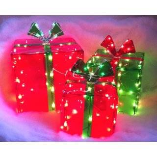 Lighted Gift BOXES Christmas Indoor / Outdoor 150 Lights