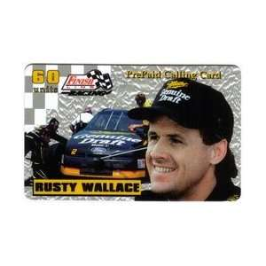 60u Platinum Series Rusty Wallace (Miller Draft Beer) Printers Proof