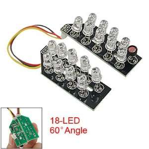 Red Infrared 18 LED Light Lamp for CCTV Security Camera Camera