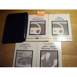1999 Ford Expedition Owners Manual Ford Motor Co. Books