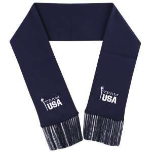 2010 Winter Olympics Team USA Youth Navy Blue Scarf
