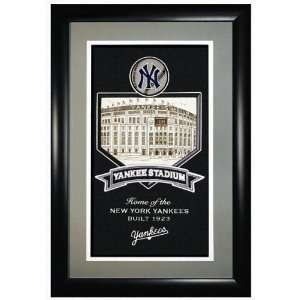New York Yankees Yankee Stadium  Stadium Collection  Framed Double