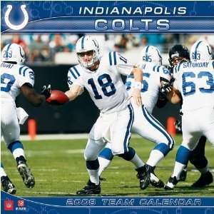 INDIANAPOLIS COLTS 2008 NFL Monthly 12 X 12 WALL CALENDAR