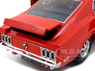 1970 FORD MUSTANG BOSS 429 CORAL 124 DIECAST MODEL