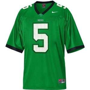 Nike Marshall Thundering Herd #5 Green Replica Football Jersey