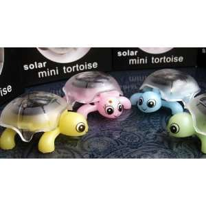 solar power tortoise toy kid solar toys mini solar toys Toys & Games