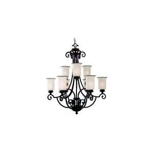 Light Chandelier Energy Star 32.25 W Sea Gull Lighting 31147BLE 814