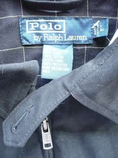 POLO RALPH LAUREN MENS MICROFIBER GOLF/WINDBREAKER BLACK LOGO