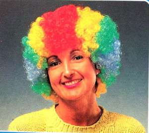 CLOWN WIGS crazy headwear funny costume wig