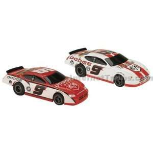 Tracker NASCAR Slot Car Twin Pack   Kasey Kahne Dodge #9 Toys & Games