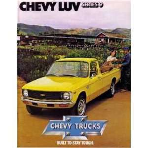 1979 CHEVROLET LUV Sales Brochure Literature Book