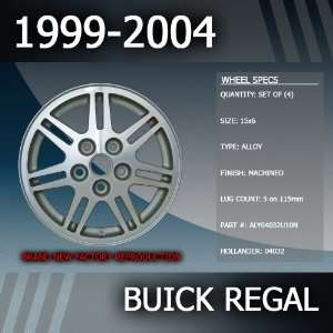 2004 Buick Regal Factory 16 Replacement Wheels Set of 4 Automotive
