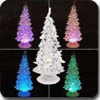 Powered LED Multi Color Christmas Xmas Tree Colorful Desktop Light
