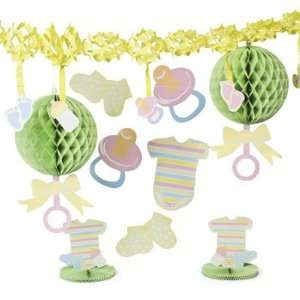 Bright Baby Shower Decorating Kit   Party Decorations