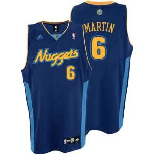 adidas Navy Swingman #6 Denver Nuggets Jersey