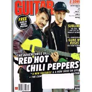 GUITAR WORLD Magazine (Oct 2011) Adventures of RED HOT
