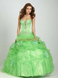 2012 Quinceanera Wedding dress Ball Gown/Prom dress US SIZE4 6 8 10 12
