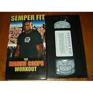 Semper Fit Marine Corps Workout [VHS] Sun Harbors