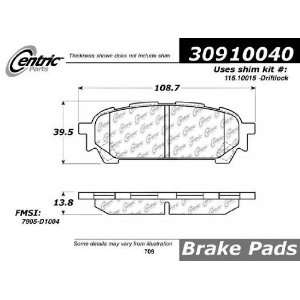 Rear StopTech Street Performance Brake Pads 309.10040 Automotive