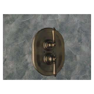 Rohl Inca Brass Thermostatic Shower Valve with Metal Lever